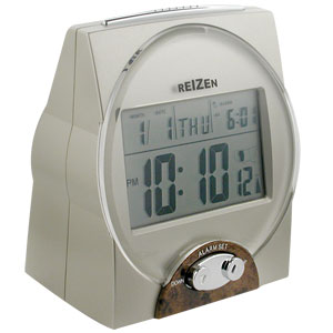 REIZEN Radio-Control Talking Atomic Clock