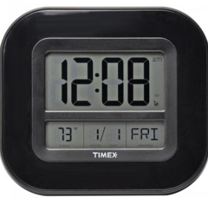 AcuRite Timex Digital Atomic Clock