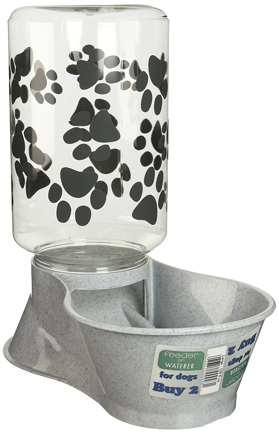 Lixit Animal Care Dog Feeder and Water Front