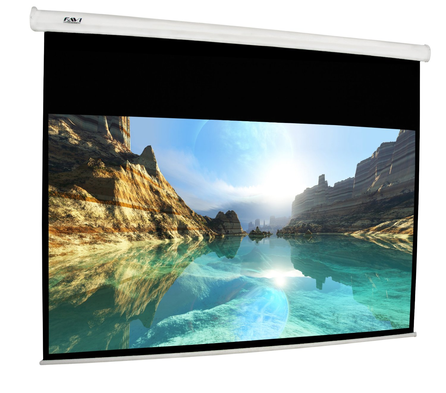 FAVI Pull-Down Video Projection Screen