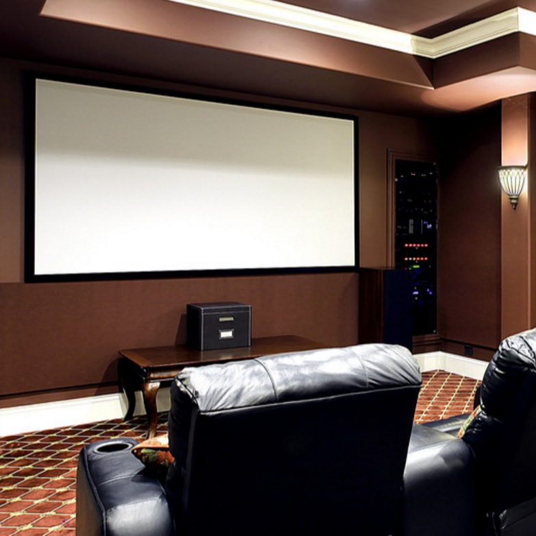 Silver Ticket Home Projection Screen