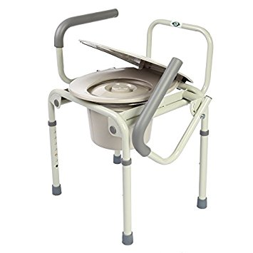 Healthline Trading  Drop Arm 3-in-1 Commode