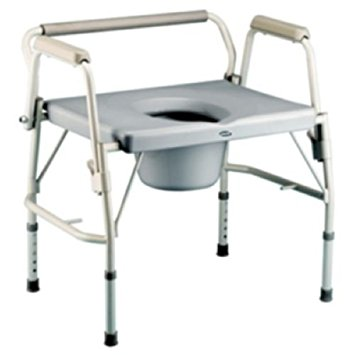 Invacare Bariatric  Drop Arm Commode