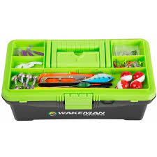 Wakeman Fishing Tackle Box