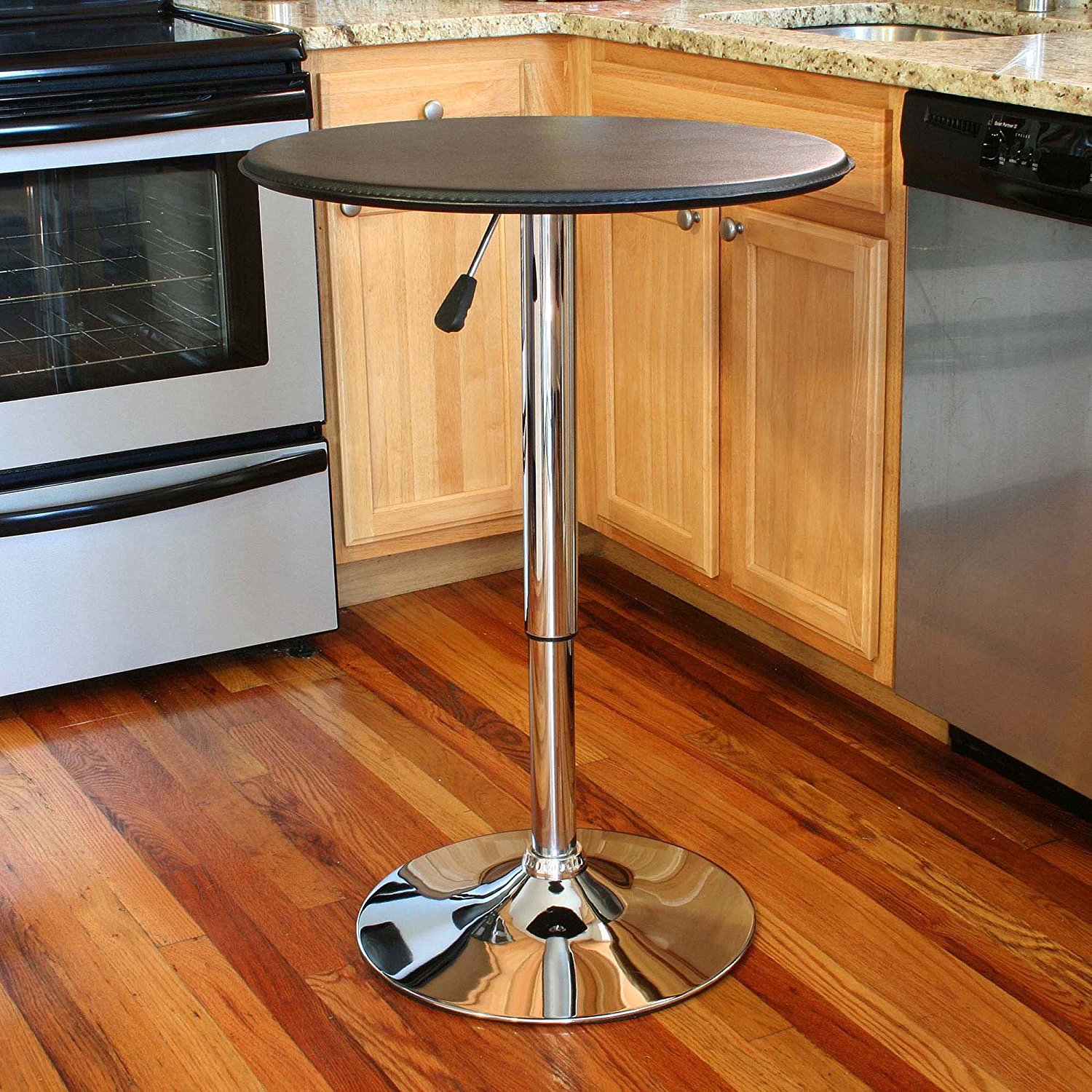 AmeriHome Adjustable Bar Table