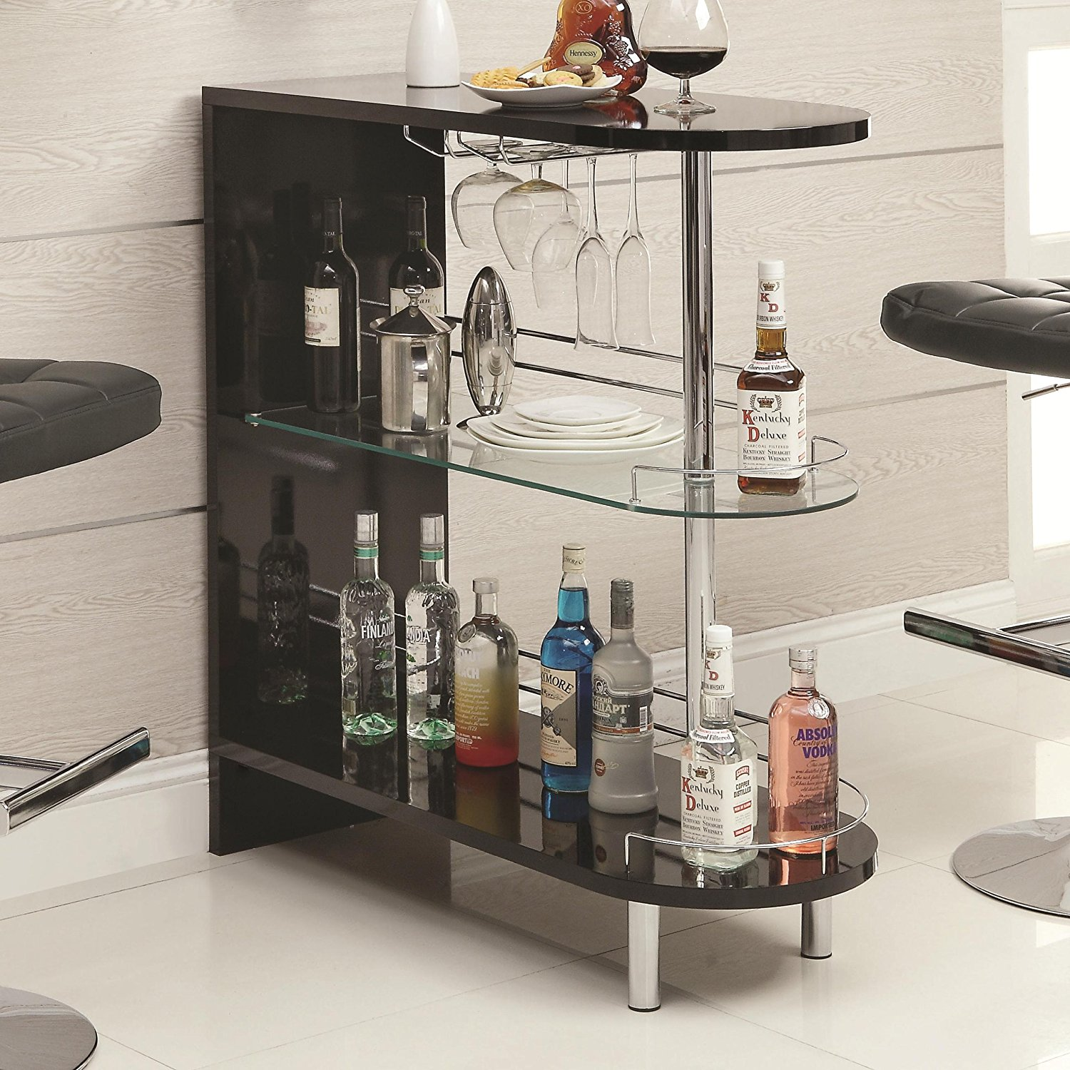 Coaster Home Contemporary Bar Table