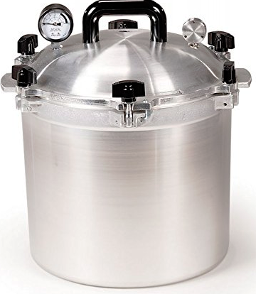 All American 21 ½ Quart Pressure Cooker