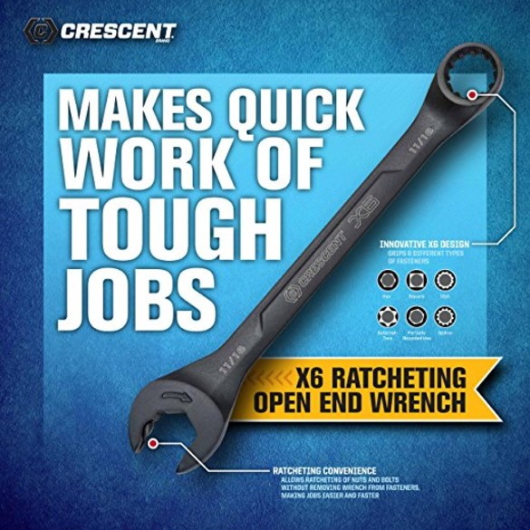 Crescent 7-Piece Combination Wrench Set