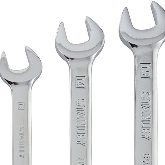 Stanley 7-Piece Ratcheting Wrench Set