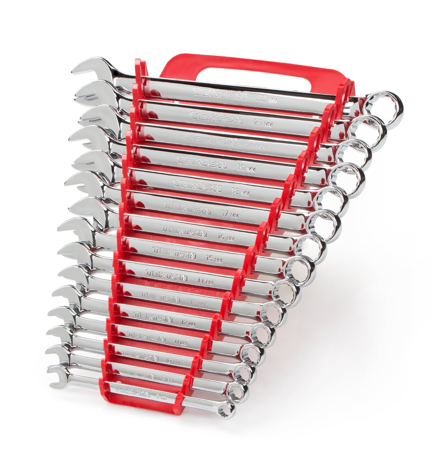 TEKTON Combination Wrench Set — Available in 4 Sizes & 2 Styles