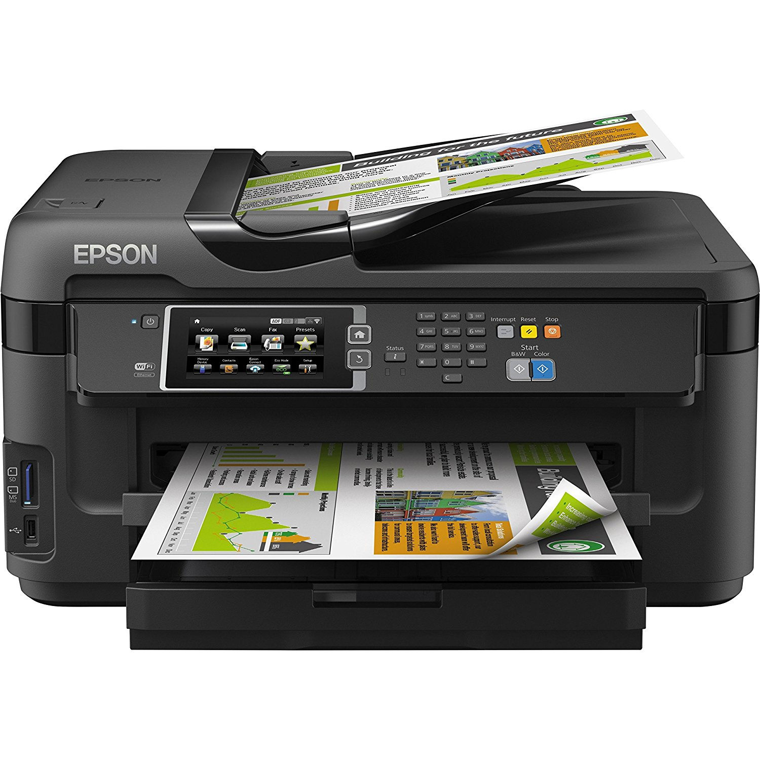 Epson Workforce All-in-One Office Printer – Inkjet, Wireless
