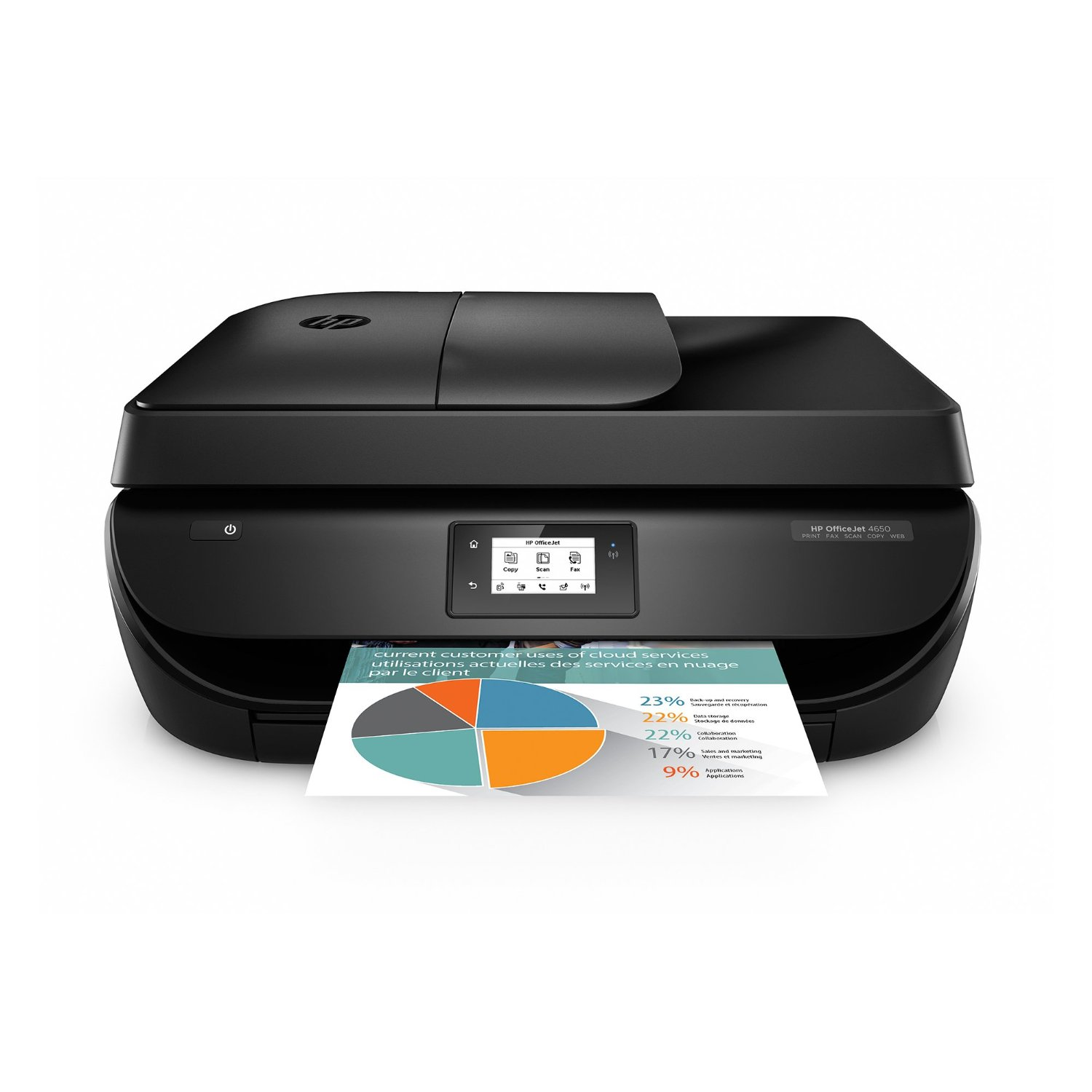 HP OfficeJet All-In-One Office Printer