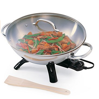 Presto Stainless Steel Electric Wok