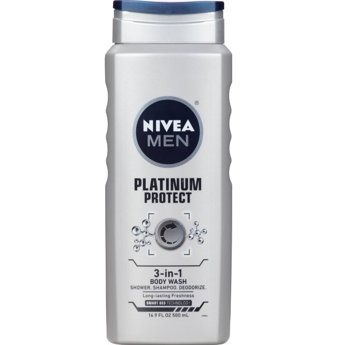 NIVEA Men 3 Pack Shower Gel