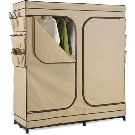 "Honey-Can-Do 60"" Portable Cloth Wardrobe"