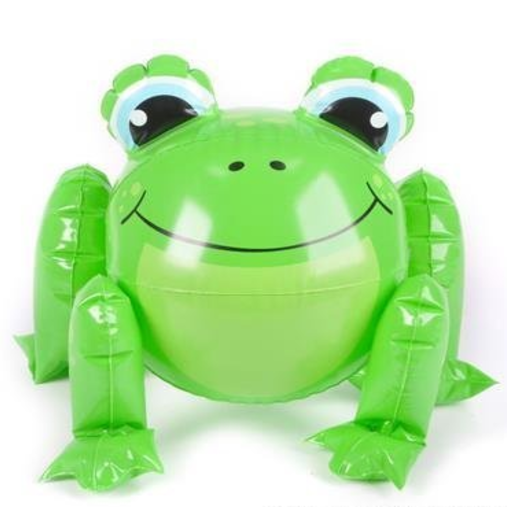 "Rhode Island Novelty 12"" Frog Beach Ball"