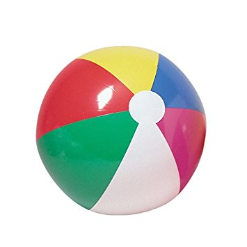 U.S. Toy 20-Inch Inflatable Beach Balls