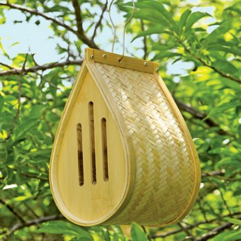 Gardener's Supply Company Woven Bamboo Butterfly House
