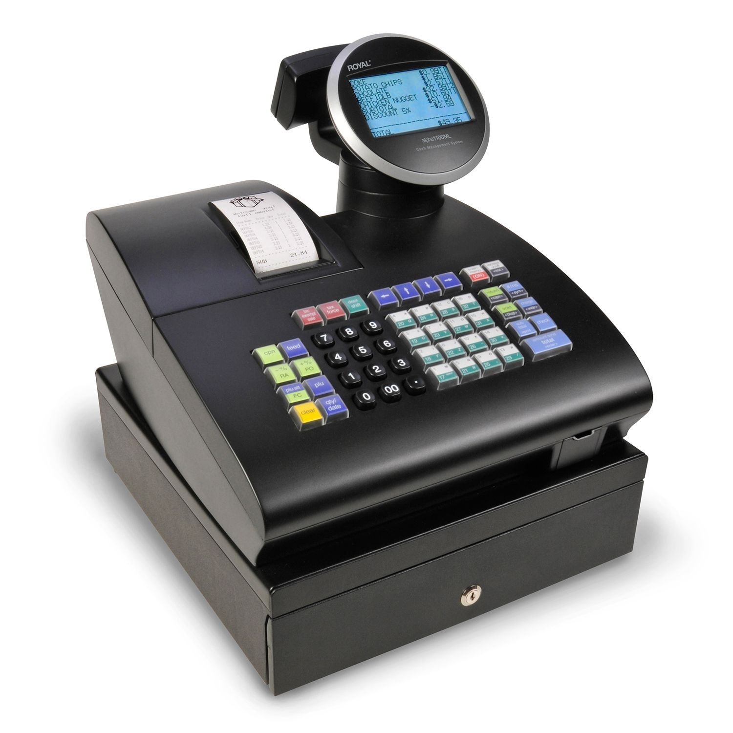 Royal Consumer Alpha 1100ML Cash Register