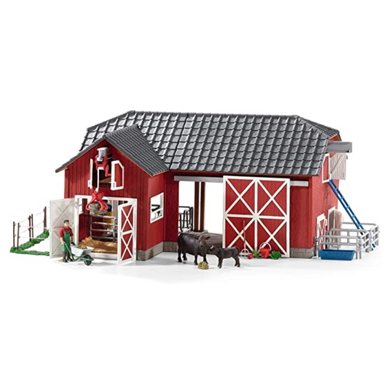 Schleich North America Large Red Barn
