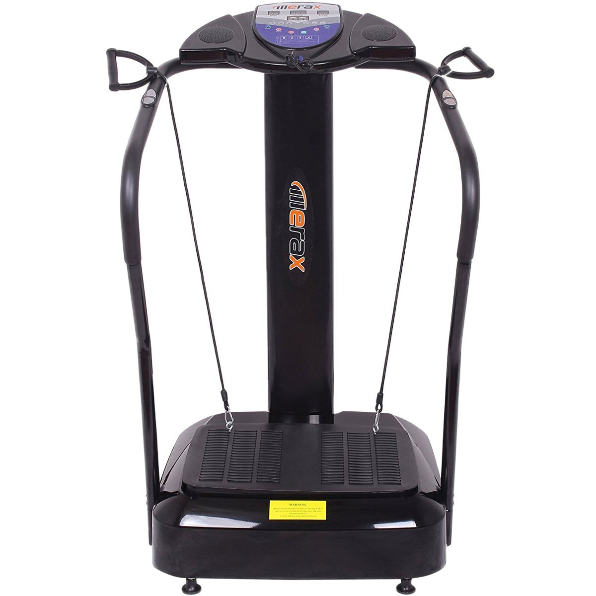 Merax Crazy Fit 2000W Vibration Platform Fitness Machine with 10 Preset Programs