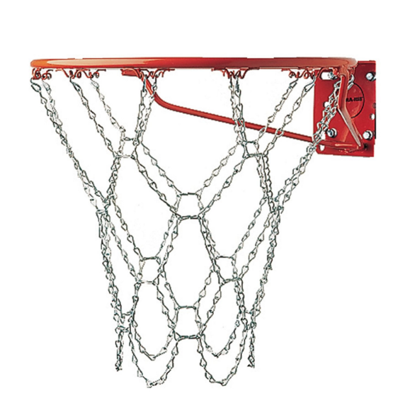Champion Sports Steel Chain Basketball Net for Indoor and Outdoor Use – Available in 2 Pack Sizes