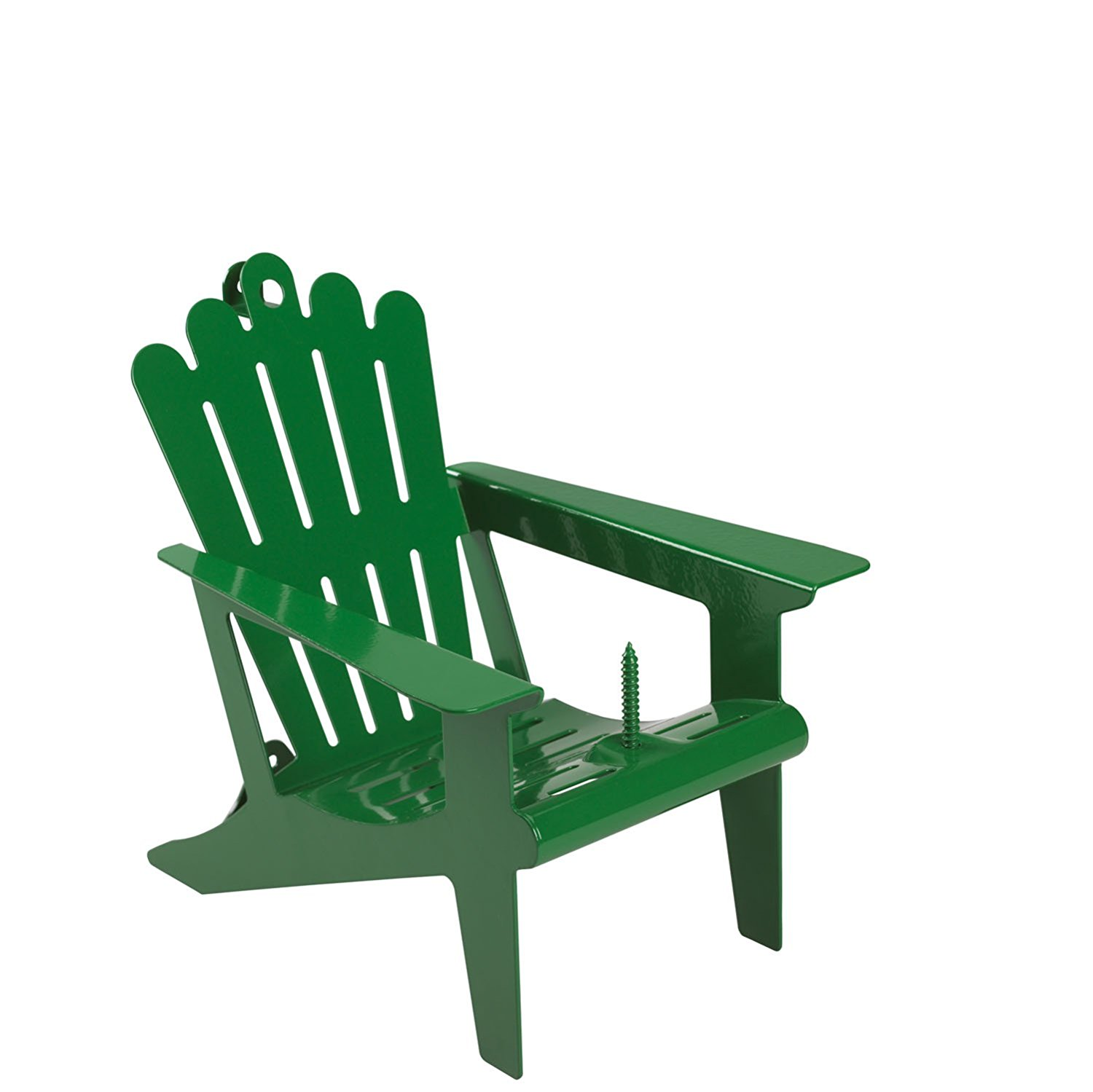 Belle Fleur Adirondack Chair Squirrel Feeder with 1 Corn Cob Capacity – Available in 2 Colors