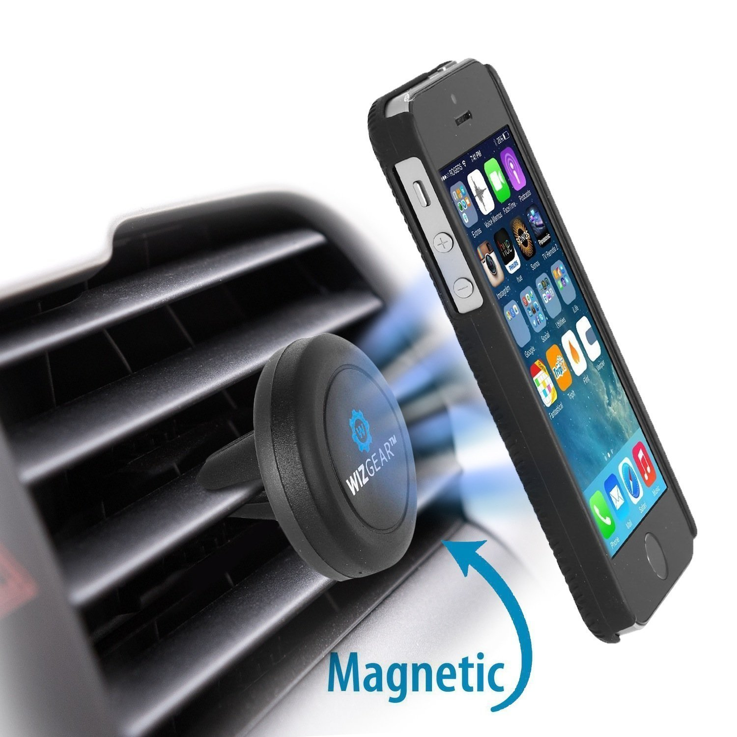 Wizgear Universal Air Vent Magnetic Cell Phone Car Mount