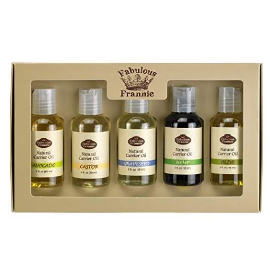 Fabulous Frannie Carrier Oil 5 Pack Sampler