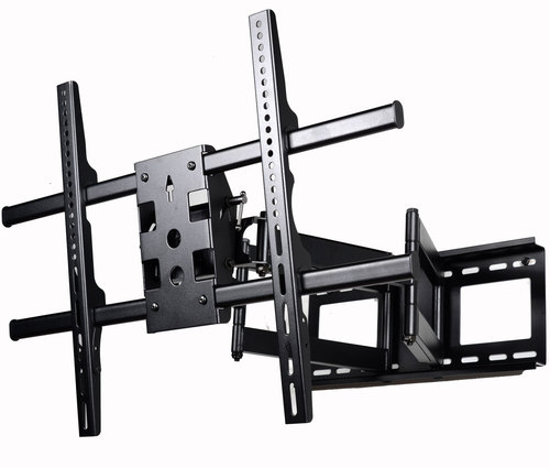 VideoSecu Full Motion Articulating Dual Arms TV Bracket for Screens up to 165lbs