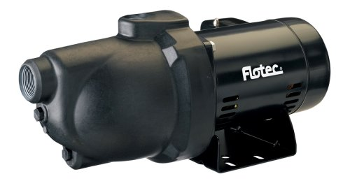 Flotec Thermoplastic Shallow Well Jet Pump
