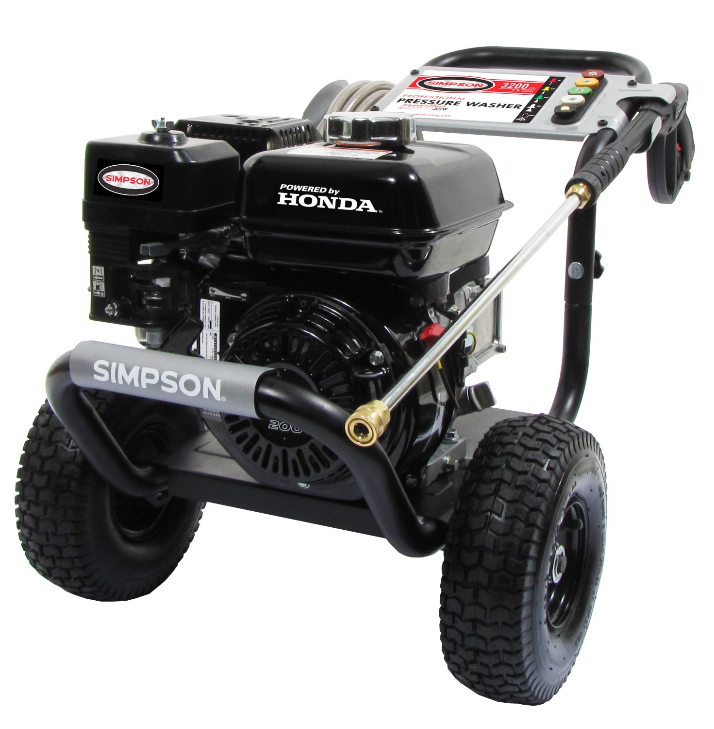 Simpson PowerShot Honda GX200 Gas Pressure Washer