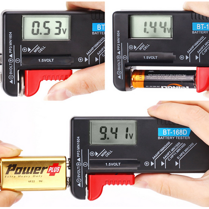 HDE Digital Battery Tester