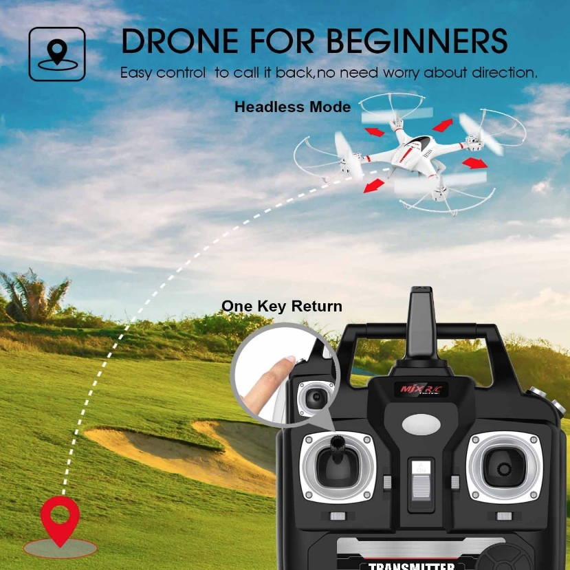 DBPOWER FPV Drone with Wifi Camera