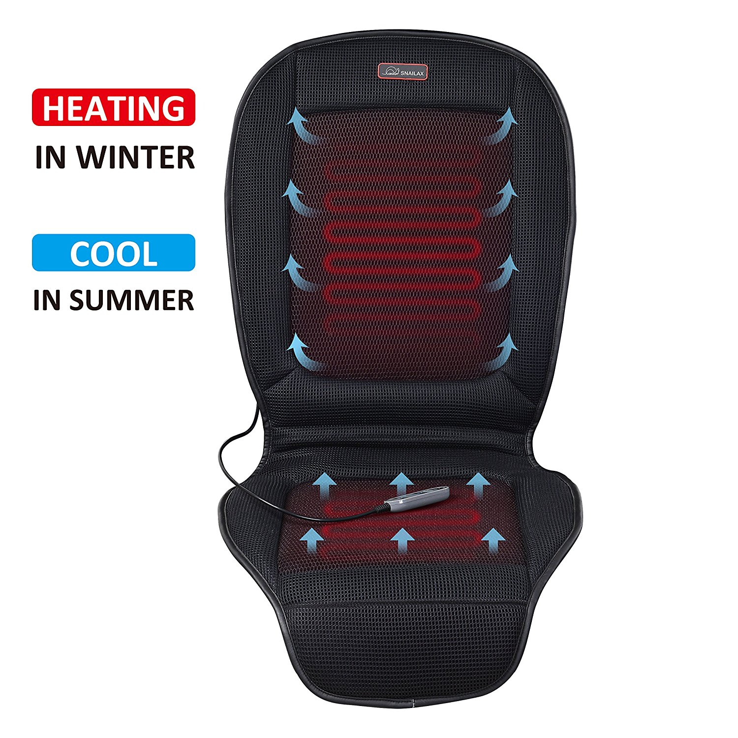 Snailax Cooling and Heating Seat Cushion