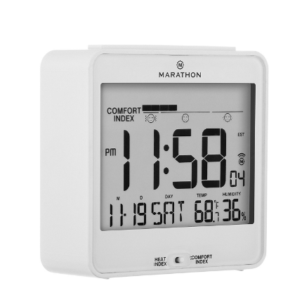 Marathon Atomic Desk Clock