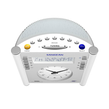 Sangean AM/FM Tuning Radio Clock