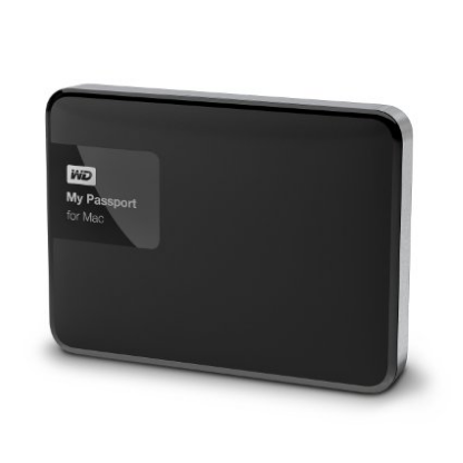 WD My Passport for Mac Mobile External Hard Drive – 3TB & USB 3.0