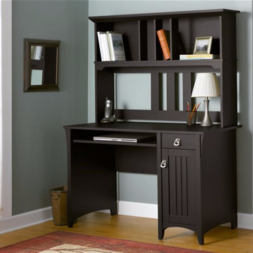 Bush Furniture Salinas Mission Desk with Hutch