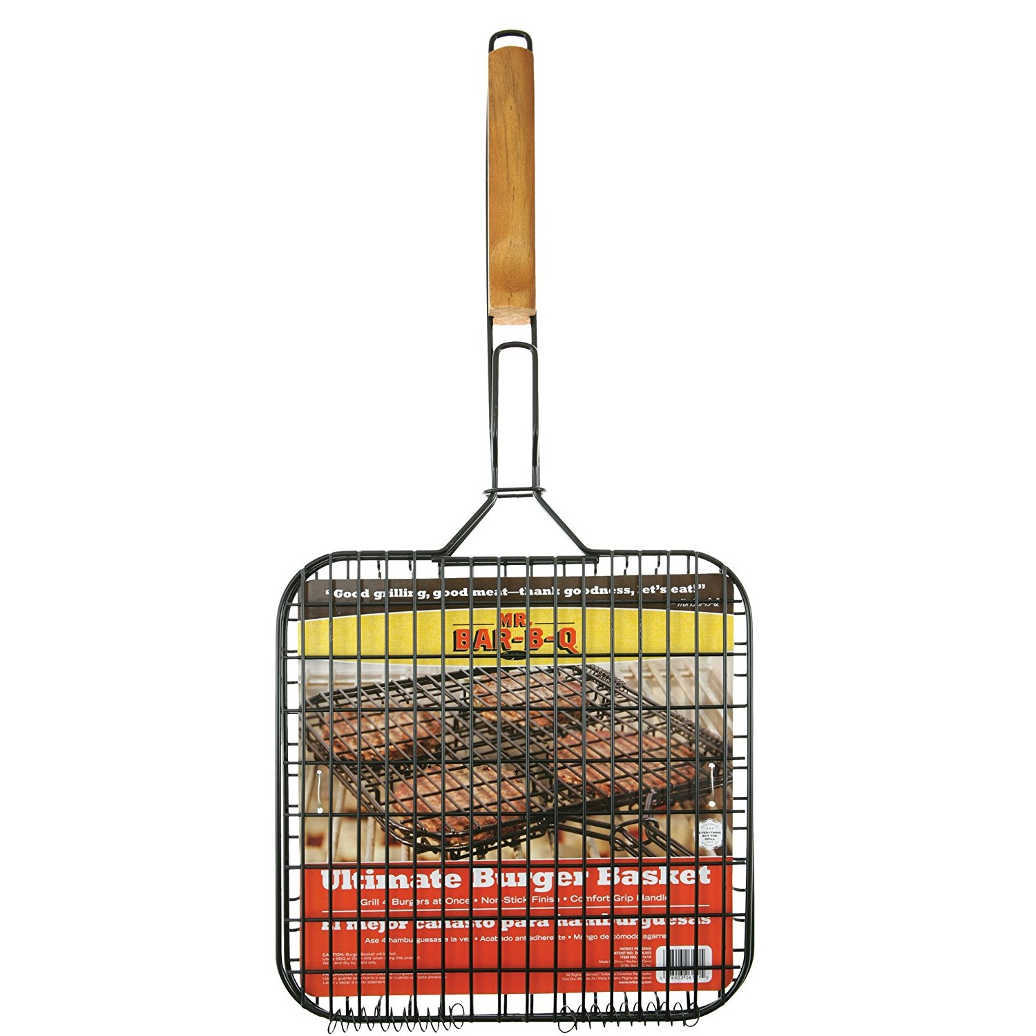 Mr. Bar-B-Q Non-Stick Burger Basket