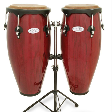Toca Synergy Series Wooden Conga Set