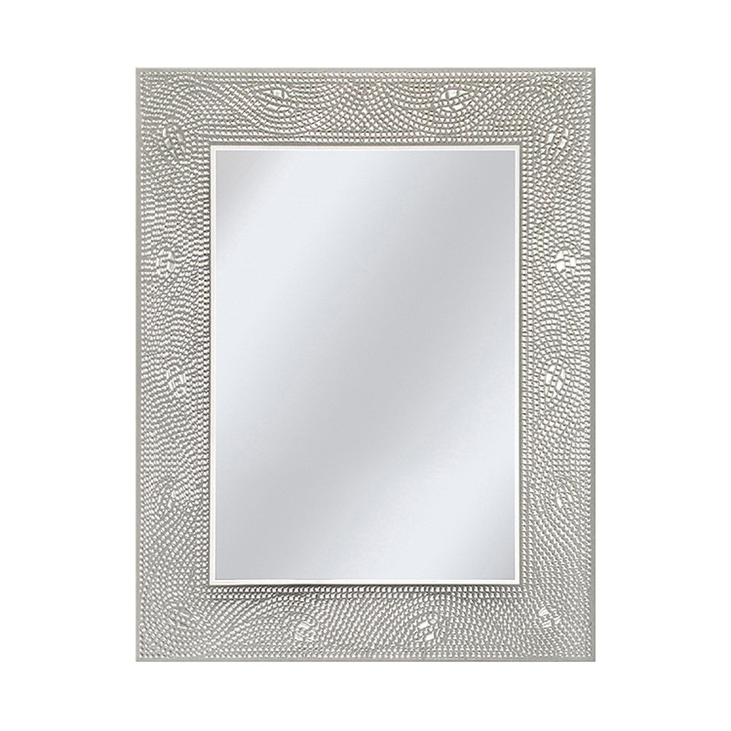 Head West Crystal Mosaic Bathroom Mirror