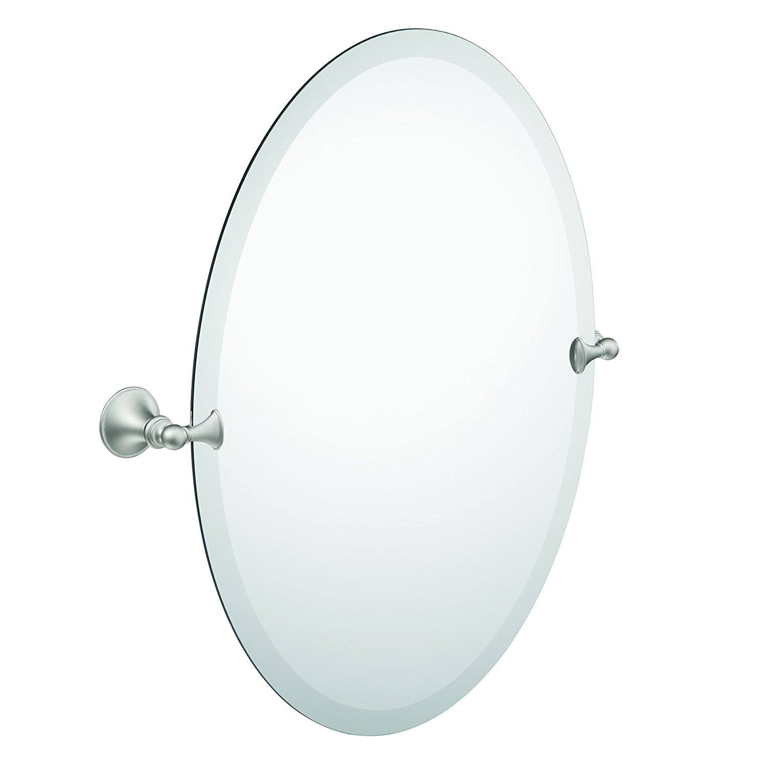 Moen Glenshire Brushed Nickel Bathroom Mirror