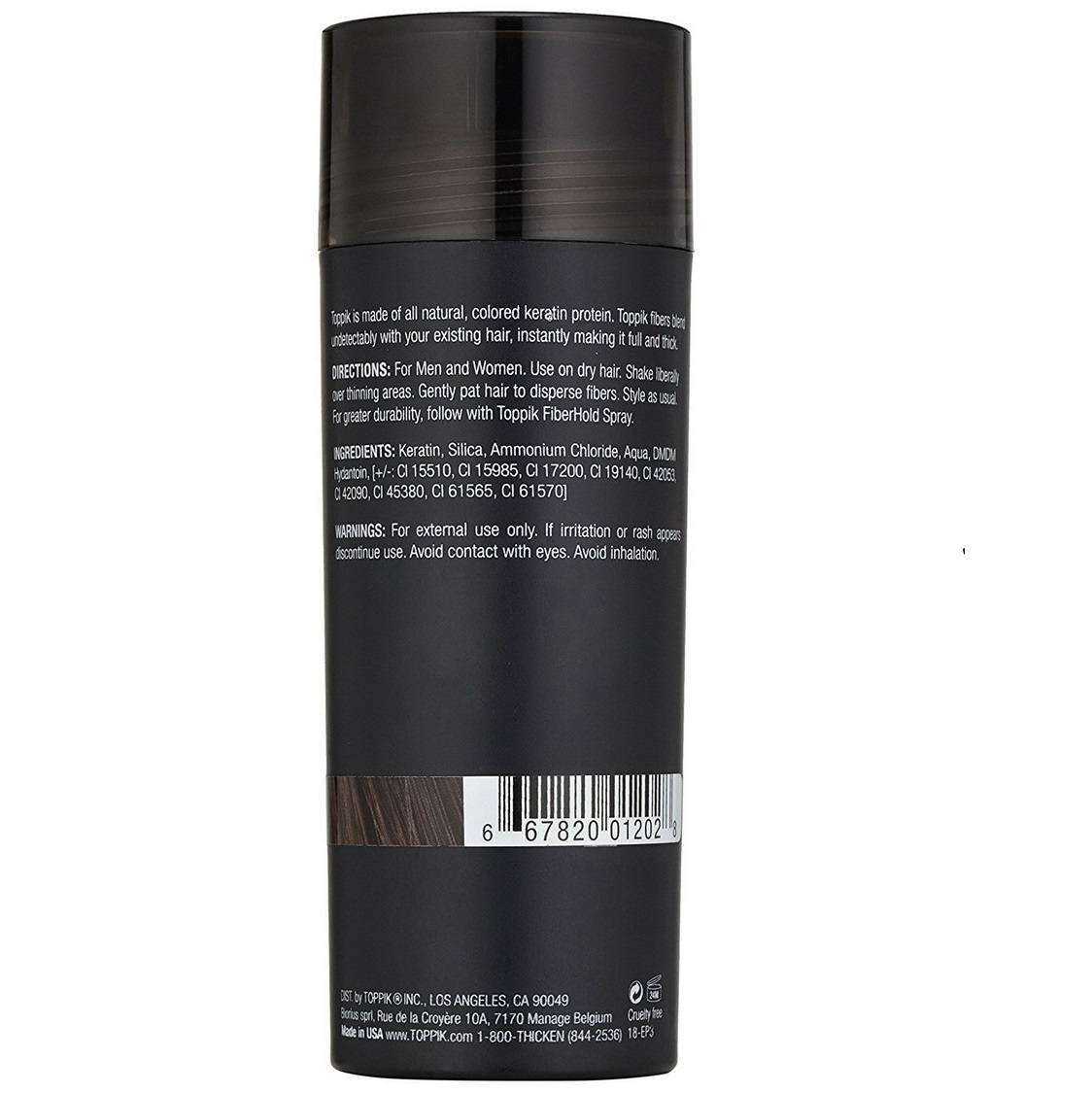 Toppik Keratin Protein Hair Building Fibers
