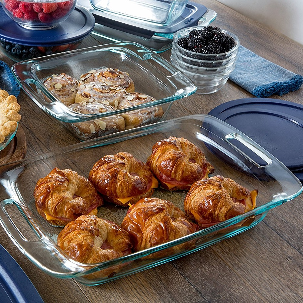 Pyrex Simply Store Glass Bakeware and Food Storage Set