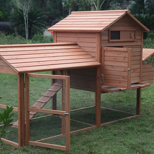 ChickenCoop Outlet Large Deluxe Chicken Coop