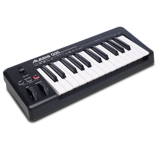Alesis Q25 Digital Keyboard Controller