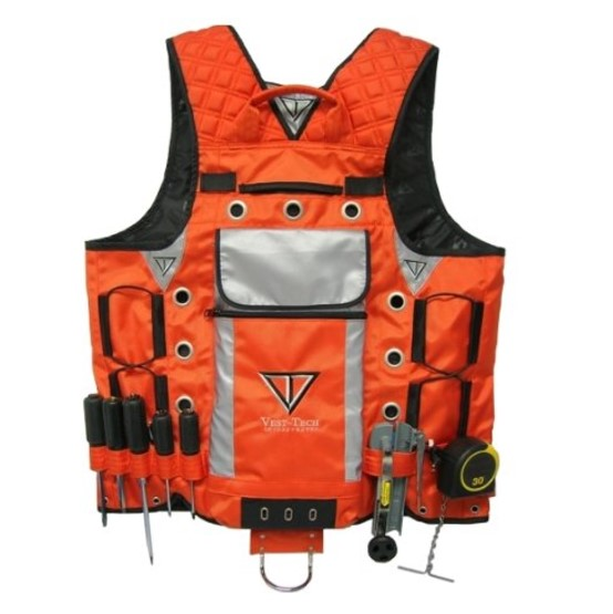 Vest Tech Orange/Reflector Vest