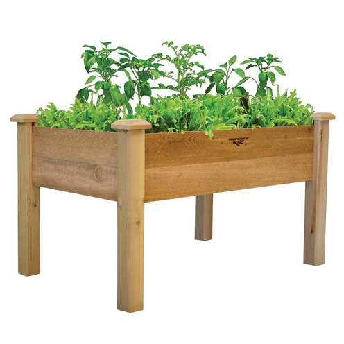 Gronomics Rustic Elevated Garden Bed