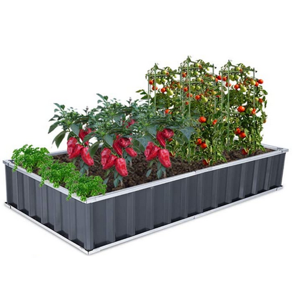 Growneer Metal Raised Garden Bed